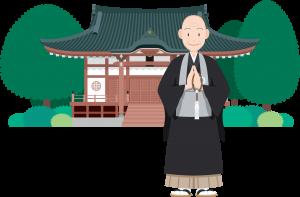 お寺と和尚