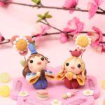 雛人形と梅