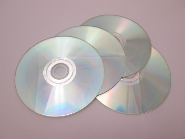 不要なCD・DVD