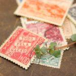 海外のアンティーク切手