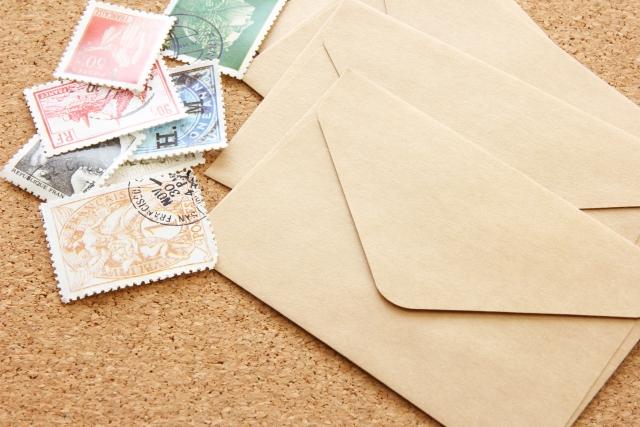 封筒と切手